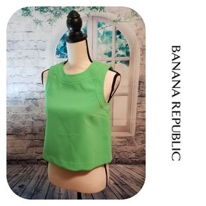 Lime Green Banana Republic Top